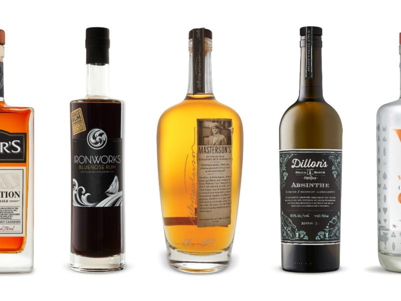 The LCBO's best bottles of Canadian-made spirits