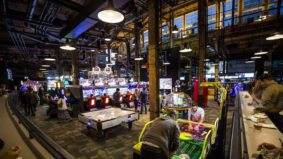 Inside the Rec Room, Cineplex's new Playdium-style arcade for adults in Roundhouse Park