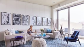 How a CEO and a TV personality dressed up a downtown pied-à-terre