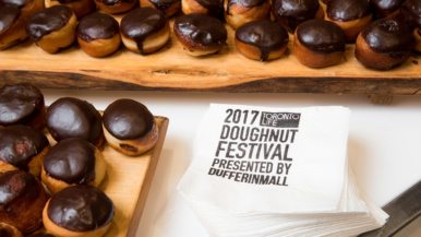 Here&#8217;s what went on at the <em>Toronto Life</em> Doughnut Festival presented by Dufferin Mall