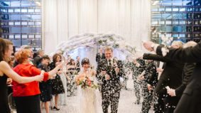 Real Weddings: Inside a confetti-filled bash at the Four Seasons