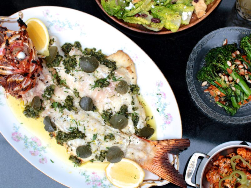 What's on the menu at Estia, a Mediterranean restaurant from Charles Khabouth and Hanif Harji