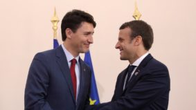 Justin Trudeau's meet-cute with Emmanuel Macron has launched a new wave of steamy Trudeau fan fiction