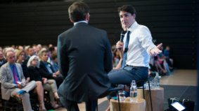 Five things we learned from Justin Trudeau's interview with the <em>New York Times</em> at U of T