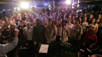Watch a choir pack into a Toronto bar to sing the <em>Game of Thrones</em> theme song