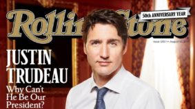 An exhaustive list of magazine covers featuring Justin Trudeau