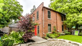 Rental of the Week: $3,700 per month to live in a refurbished coach house in Dufferin Grove