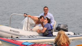 What people are saying about Justin Trudeau's bride-smooching kayak adventure