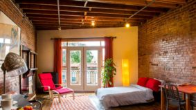 Airbnb of the Week: From $84 per night for a brick-lined Dundas West studio