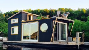 Airbnb of the Week: From $114 per night for an all-season houseboat on the Gatineau River