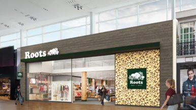 Inside the gigantic new Roots flagship store at Yorkdale Mall