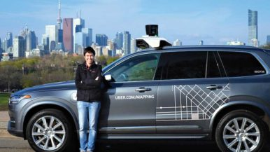 Self-driving cars are storming the streets