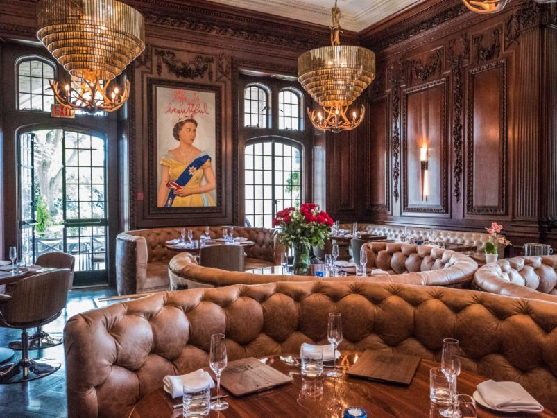What's on the menu at BlueBlood, a humongous new steak house inside Casa Loma