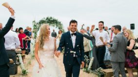 Real Weddings: Inside a Toronto couple's extravagant, Indian-inspired celebration in Portugal