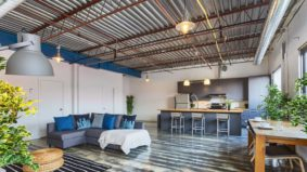 Airbnb of the Week: From $210 per night for a three-bedroom concrete loft in the west end