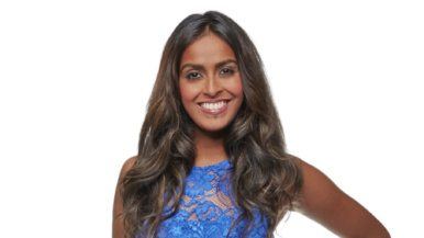 Q&#038;A: Eliminated <em>Bachelor Canada</em> contestant Pricilla on the season premiere and jumping out of a giant cake