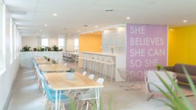 Inside Make Lemonade, a new co-working space for women