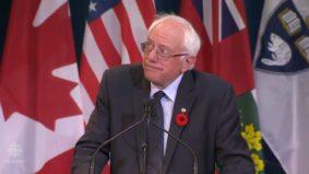 Some takeaways from Bernie Sanders' speech at the University of Toronto