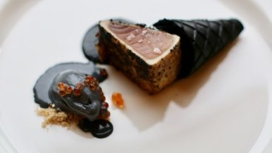 What was served at The Dinner Party, a 30-chef affair with three seven-course meals