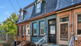 House of the Week: $800,000 for a super-skinny row house in Corktown