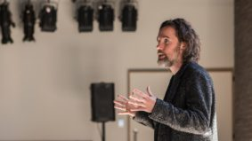 Q&A: Broken Social Scene front man Kevin Drew on his debut play, <em>A&R Angels</em>, suicide and getting over his stage fright