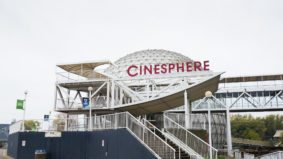 Inside the newly restored Cinesphere at Ontario Place