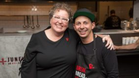 Q&A: Fidel Gastro's chef Matt Basile on training an all-volunteer kitchen to run June's HIV+ Eatery