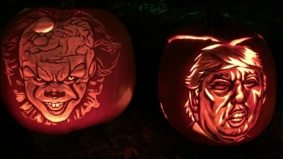 The 20 best jack-o'-lanterns from last night's pumpkin parades