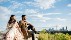 Real Weddings: Inside a contemporary Indian extravaganza at the Brick Works