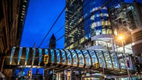 The Eaton Centre's new elevated pedestrian bridge is finally open for business