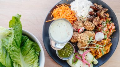 What's on the menu at Hello 123, a new vegan restaurant and bar from the owners of Kupfert and Kim