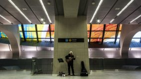Take a look at the stunning public art in Toronto's new subway stations
