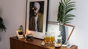 Inside YouTube star Jus Reign's jungle-themed downtown condo