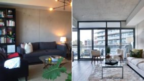 How a pair of stagers refreshed a Leslieville condo in one day