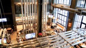 What's on the menu at Craft Beer Market, a 400-seat bar with 145 beers on tap