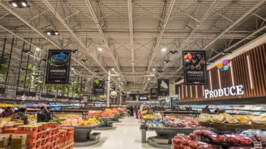 Inside Nations Experience, a 155,000-square-foot supermarket with an arcade, a playground and all-day dim sum