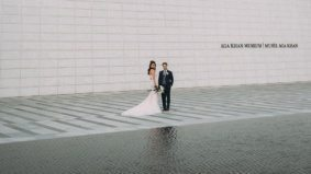 Real Weddings: Inside a glam, multicultural celebration at the Aga Khan Museum