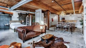 Rental of the Week: $3,500 a month to live in a rustic hard loft in South Riverdale