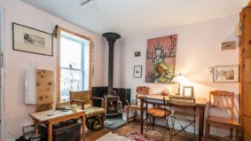 Airbnb of the Week: $75 per night for an urban cottage with a wood-burning stove