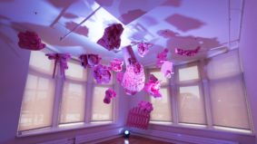 Take a look at the curiously beautiful art installations taking over the Gladstone Hotel right now