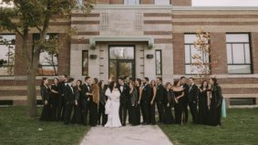 Real Weddings: Inside the first-ever ceremony at the Symes, a restored art deco building in the Junction