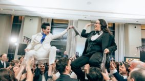 Real Weddings: Inside a dance-filled same-sex celebration at the Four Seasons