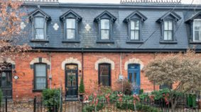 Sale of the Week: The row house that shows what $1 million gets you in Cabbagetown