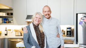 Inside the kitchen of Brandon Olsen and Sarah Keenlyside, the owners of La Banane and CXBO