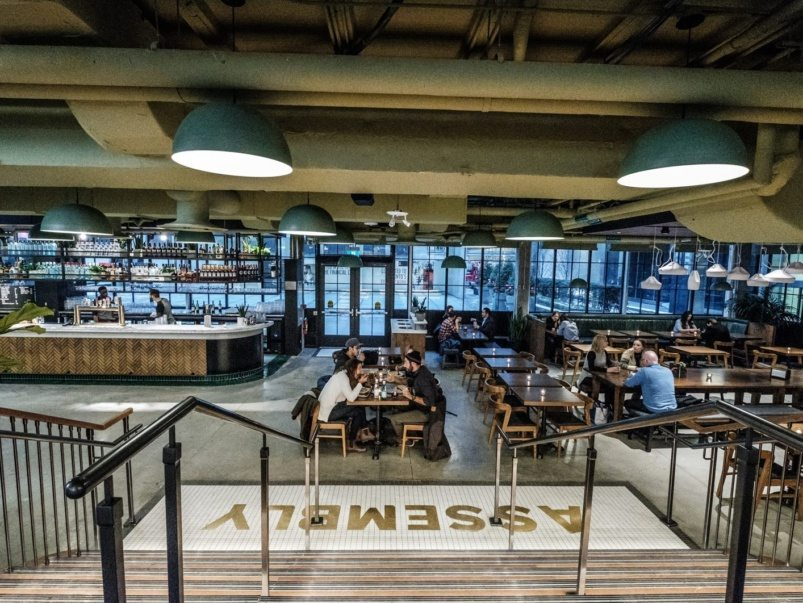 The massive Assembly Chef's Hall is finally open. Here's everything you should order