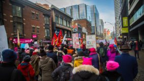 """I don't think that only one person can change things"": Why people attended Toronto's women's march"