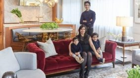 How a family with a plastic surgery business discovered the joys of living above the shop