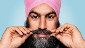 Behind the scenes with Jagmeet Singh, the left's greatest showman