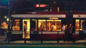 This artist paints Chinatown and Etobicoke in the style of the Old Masters