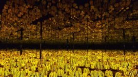 Take a look inside the AGO's colossal <em>Infinity Mirrors</em> exhibition